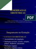 Hemorragias ObstÉtricas