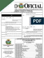 MIDIANEWS - Edital do concurso público da Câmara Municipal de Cuiabá, entre as páginas 90 e 97