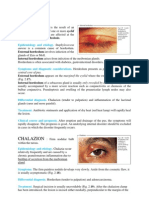 Disorder of Eyelids