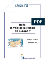 Italie, la voix de la Russie en Europe ?