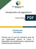 Introducción a la Ingeniería II - Planeación Estratégica-1