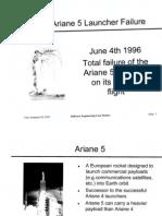 Arian 5 Failure Details