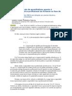vedação de quantitativos quanto à capacidade técnico-profissional da licitante na fase de habilitação