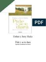 Pide y Se Te Dara - Abraham Hicks