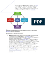 La Administración conceptos y otras