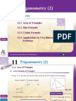Chapter 11 Trigonometry (2)