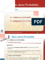 Chapter 15 More About Probability