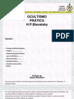 HPB - OCULTISMO PRATICO