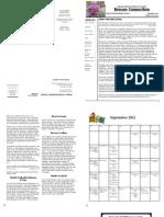 Sept Newsletter 2011