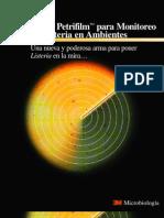 Folleto en Español Placa 3M Para Listeria