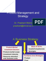 Product Management and Strategy