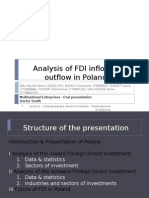 Analysis of FDI Inflow & Outflow in Poland 08.04.2011 Bis