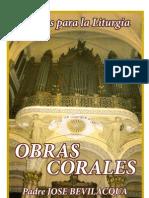 Bevilacqua Jose Obras Corales