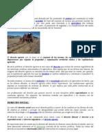 DERECHO AGRARIO y Relacion Con Otra Ramas 02.09.11