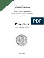 CERME2 Proceedings