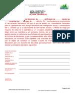 5 Acta Constitutiva Alta Consejo