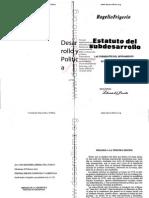 16-El Estatuto Del Subdesarrollo (Rogelio Frigerio)