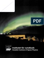 Swedish Institute of Space Physics - Brochure of year 2000