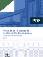 La Catedral de Cuenca, Restauración y Rehabilitación de los Espacios Anejos a la Girola