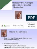 Anlise Retrospectiva Da Avaliao Neurpsicolgica Das Demncias IV Jornadas de Neuropsicologia Do Hem 1229885635520714 2
