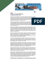 Artigo - Sistemas e Bilhetagem e Pulsos nas Cobranças de Telefonia