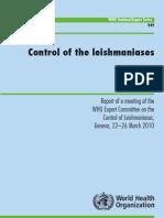 Man Contr Leishmanioses WHO 2010