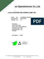 Especificacion Tecnica LED