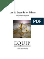 Las 21 Leyes de los Líderes