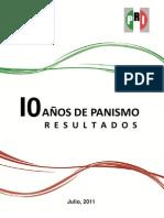 090811 10 AÑOS DE PANISMO RESULTADOS EXTENSO NUEVA REIMPRESION