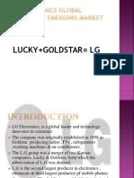 LG Electronics Global Strategy in Emerging Market