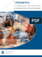 PANDEMIC INFLUENZA - Preparedness, Response, and Recovery