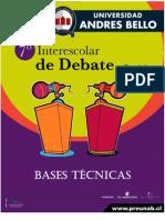 Bases Debate Espanol