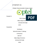 Report on PTCL