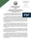 Sponsor Testimony Before House Criminal Justice Committee - Public Pension Reform Legislation (H.B. 323)