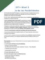 Guía EFT+ nivel 2