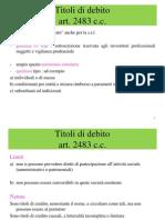 Lezione 13 - Titoli Di Debito