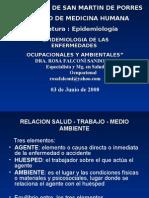 Epidemiologia de Enfermedades Ocupacionales