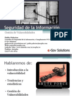 gestiondevulnerabilidades-091203142620-phpapp01
