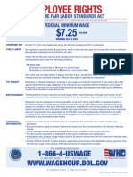 Federal - Minimum Wage