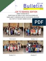 August 2011 Bulletin