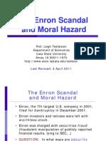 Enron Moral Hazard Case Study