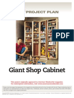 American Woodworker - Giant Shop Cabinet