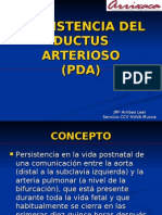 Persist en CIA Del Ductus Arterioso