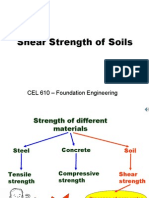 Shear Strength of Soil