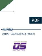 AP233 DODAF Backup Slides