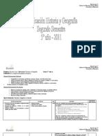 Planificacion Historia 5º básico