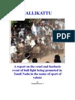 Jallikattu Report
