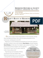 RHS Newsletter Oct2011