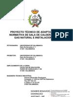 PROYECTO OBRA Sala Calderas