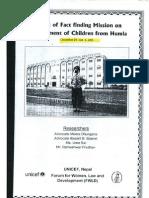UNICEF FWLD Displacement of Children From Humla 2005
